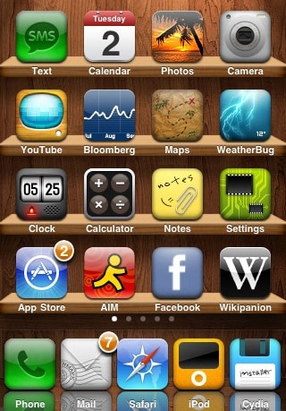 WinterBoard Cydia Tweak