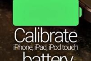 calibrate iPhone 6s battery