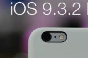 iOS 9.3.2 2nd beta